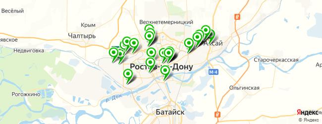 автосалон на карте Ростова-на-Дону