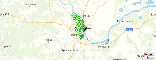 типография на карте Ярославля