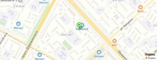 Специализированная служба по вопросам похоронного дела МУП — схема проезда на карте