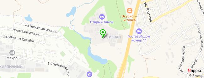 Trak Servise — схема проезда на карте
