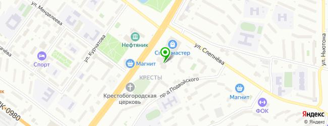 Полиграфическая компания АВМ-сервис — схема проезда на карте