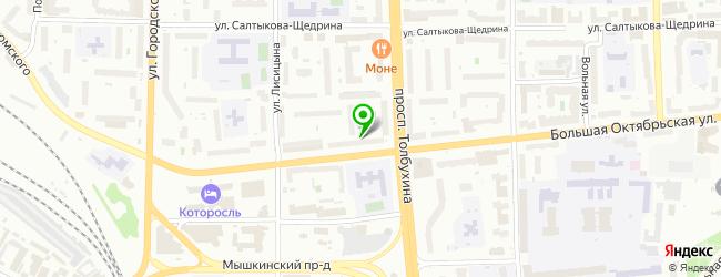 Торгово-производственная компания Яркамень — схема проезда на карте