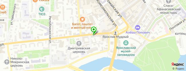 Печатный салон Спринт-Пресс — схема проезда на карте
