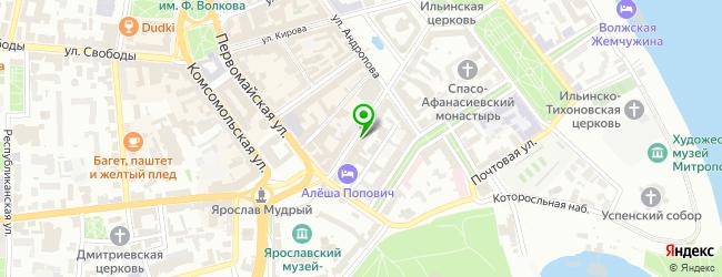 Салон оперативной полиграфии Print — схема проезда на карте