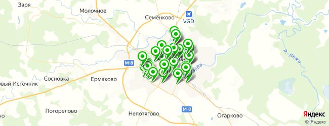 магазин шин и дисков на карте Вологды
