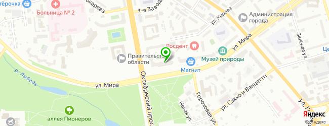 Частный детский сад Умница — схема проезда на карте