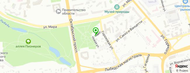 Частный детский сад Город Детства — схема проезда на карте