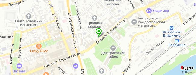 Рок-кафе Соборная площадь — схема проезда на карте