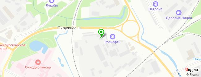 Шинный центр Снабжение Севера — схема проезда на карте