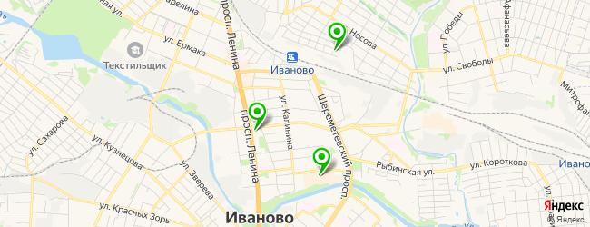 кафетерий на карте Иваново