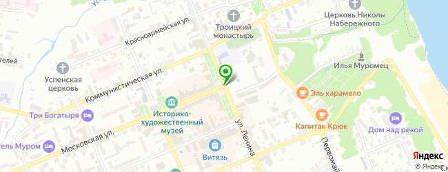 центр косметологии на карте Мурома