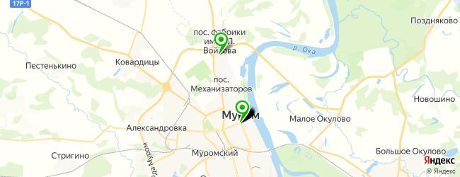 банкетный зал на карте Мурома