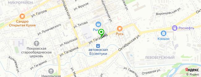Кафетерий Елена — схема проезда на карте