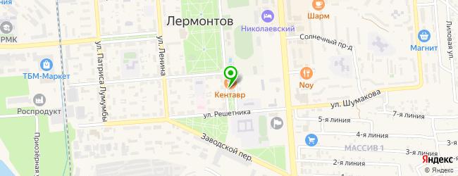 KENTAVR CLUB — схема проезда на карте