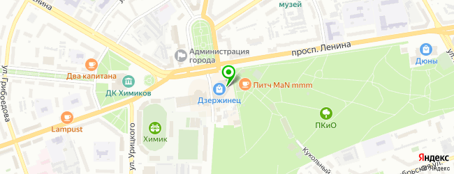 Служба доставки Сестрица — схема проезда на карте