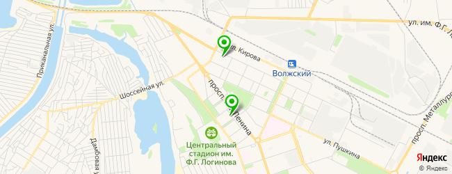 кожно-венерологический диспансер на карте Волжского