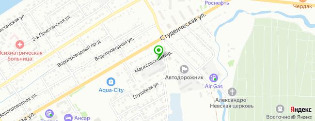 Производственно-торговая компания Монумент — схема проезда на карте
