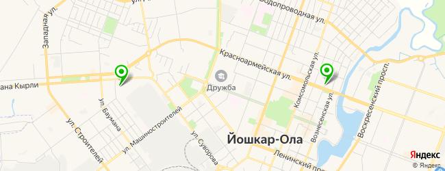центр нетрадиционной медицины на карте Йошкар-Олы