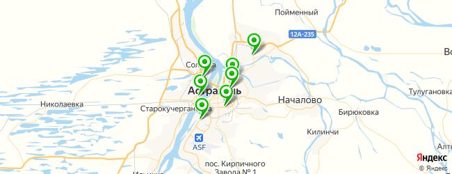 мотосервис на карте Астрахани