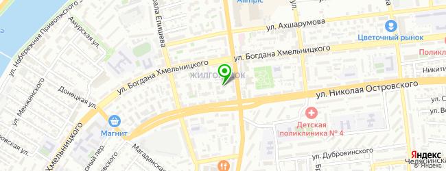 Гостиничный комплекс Корвет — схема проезда на карте