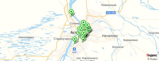 агентство праздников на карте Астрахани