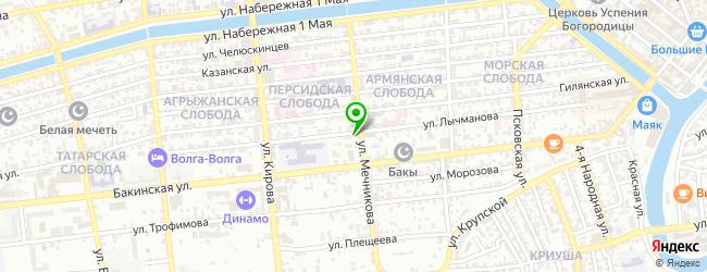 Кафе Колхети — схема проезда на карте
