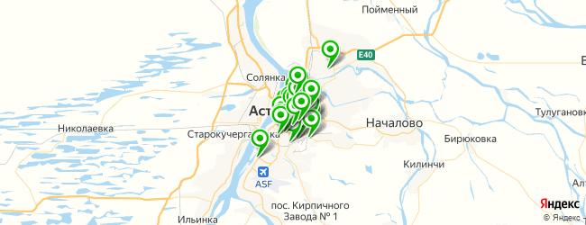 компьютерная помощь на карте Астрахани