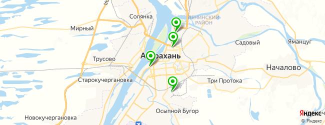 мастер-классы на карте Астрахани
