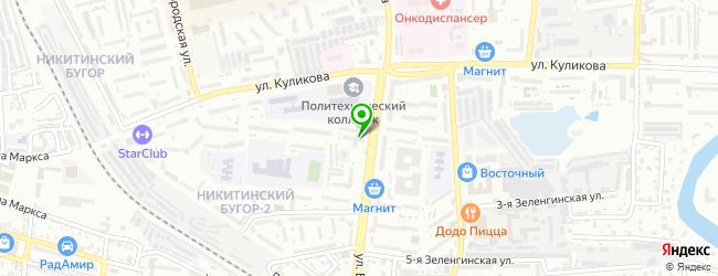 Гостиничный комплекс Парламент — схема проезда на карте