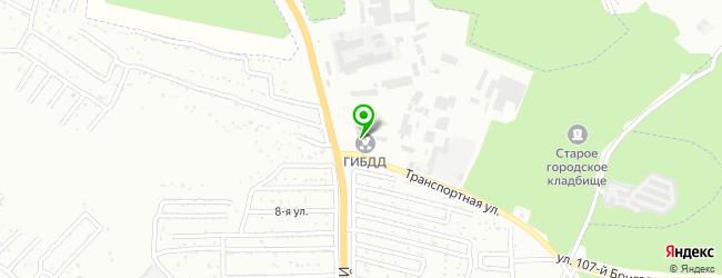 ГИБДД на карте Волжска