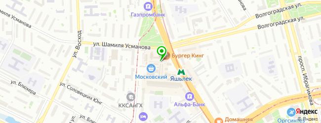 Торгово-сервисный центр Сотовик — схема проезда на карте