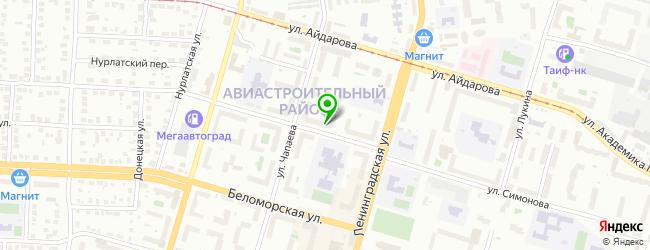 Торгово-сервисный центр HitLine — схема проезда на карте