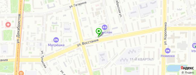 Торгово-сервисный центр Система-Сервис — схема проезда на карте