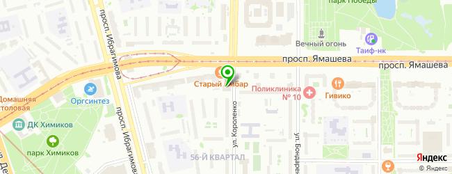 Торгово-сервисная компания Мобила-Сервис — схема проезда на карте
