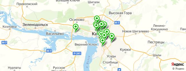 компьютерная помощь на карте Казани