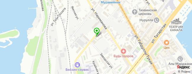 Сервисный центр Рем-Сервис — схема проезда на карте
