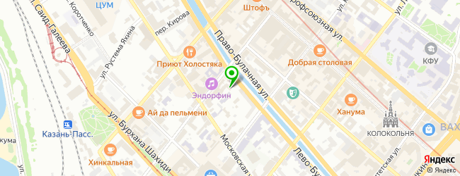 Веб-студия F.S.Lab company — схема проезда на карте