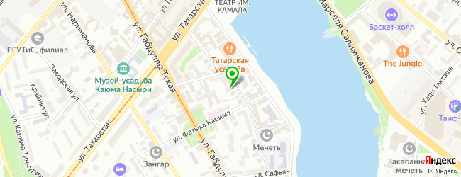 Многопрофильная компания ТехноСистемСервис — схема проезда на карте