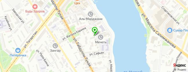 Торгово-сервисная фирма ТаксНет-Сервис — схема проезда на карте