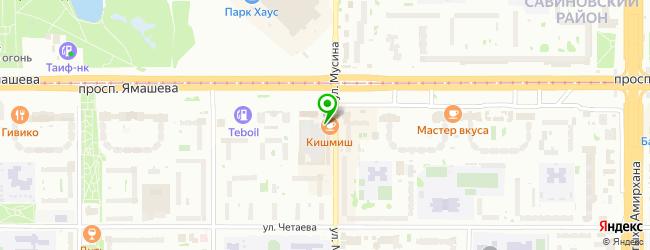 Сеть сервисных центров — схема проезда на карте
