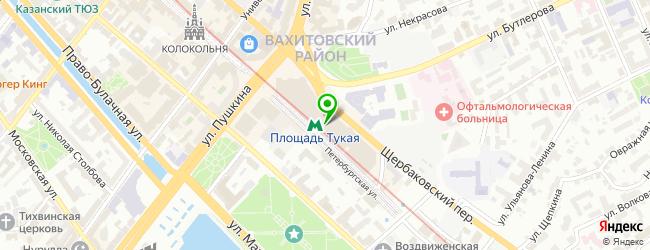 Торгово-сервисный центр АйТи-Решения — схема проезда на карте