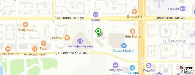 Авторизованный сервисный центр RSS — схема проезда на карте
