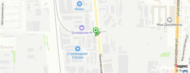 Кафетерий Каймак — схема проезда на карте