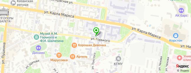 Торгово-сервисная фирма Reset — схема проезда на карте