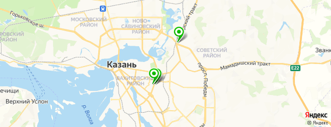 центр флебологии на карте Казани