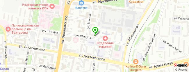 Рекламно-производственная фирма Копи-точка — схема проезда на карте