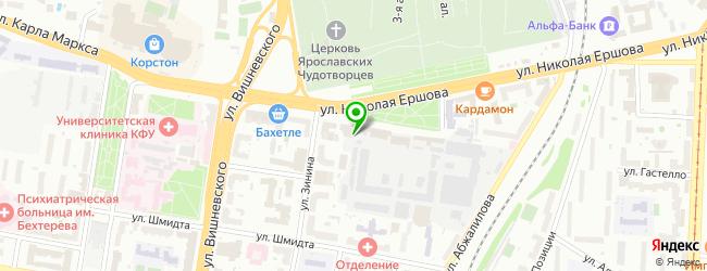 Компьютерная фирма Мегабайт Сервис — схема проезда на карте