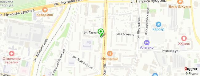 Компания по ремонту холодильников, стиральных машин и бытовой техники РБТ-Казань — схема проезда на карте