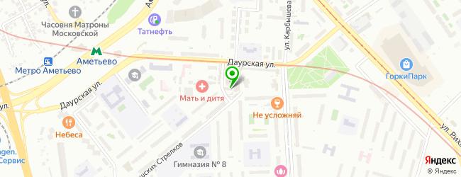 Сервисный центр ULTRA FAD — схема проезда на карте
