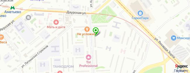 Сервисный центр Сервис-Казань — схема проезда на карте